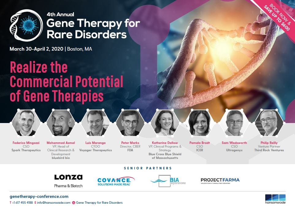 Gene Therapy 2020 Full Event Guide